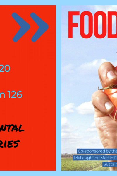 Food Chains screening Mar 20 7pm Crowe 126