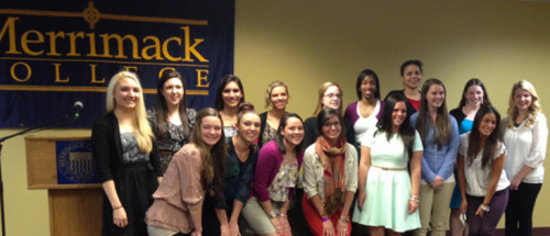 2013 Sigma Tau Delta Inductees