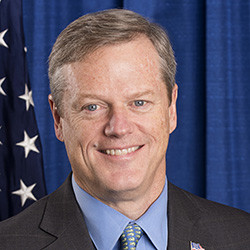 Massachusetts Gov. Charlie Baker will address Merrimack College's 66th undergraduate commenceme...