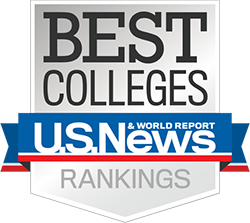 U.S. News Best Colleges Badge
