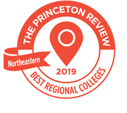 The Princeton Review best regional colleges badge.