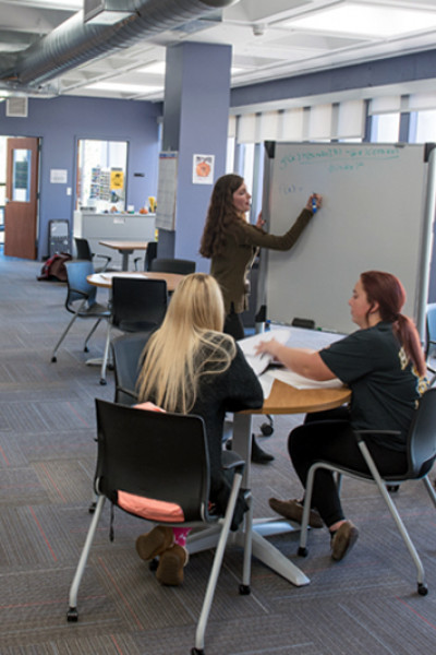 The Tutoring and Math Center has received rave reviews from students.
