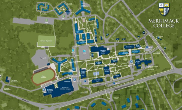 Map and Directions to Merrimack College | Merrimack College