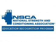 National Strength and Conditioning Association Education Recognition Program - blue logo