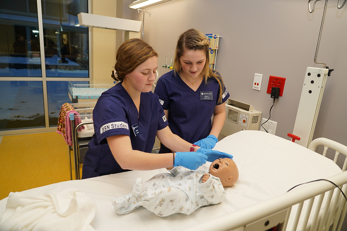 Grand Opening of the Nursing School at Merrimack College, Thursday, Feb. 13, 2020 in North Andove...