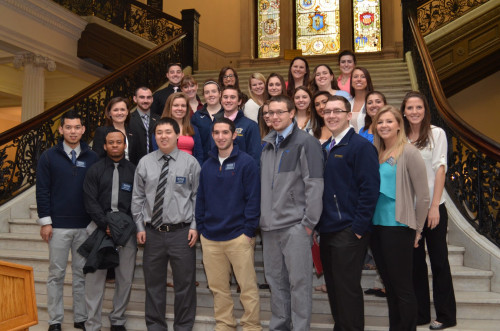 Merrimack College Athletic Training Students