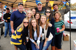 Alumni, parents, students, and friends returned to campus for the Merrimack College Homecoming Weekend, October 17-19, 29014.