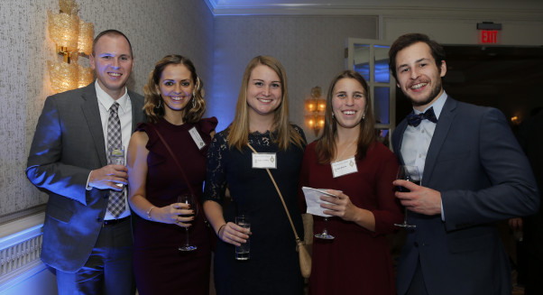 Merrimack College Holiday Party at the Four Seasons Hotel in Boston, Friday, Dec. 6, 2019. Photo ...