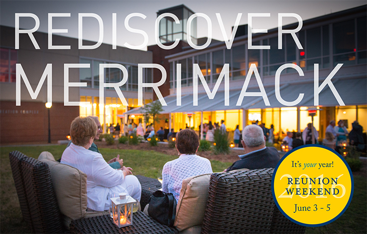 Rediscover Merrimack: Reunion Weekend 2016
