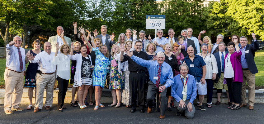 June 2, 2018 -- Merrimack College hosted its 2018 Reunion. Photo by Caitlin Cunningham (www.caitl...