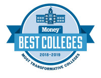 Best College Most Transformative Logo 2018