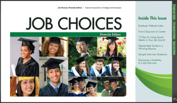 Job Choices - August 2012 - Diversity edition (lg img)