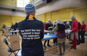 Building community through service, our interfaith coalition of volunteers broke last year