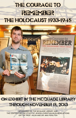 2013 Exhibit Poster for Courage to Remember
