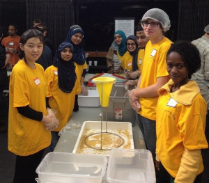 InterFaith Alliance helps pack 50,000 meals in 2013