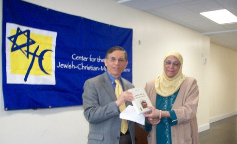 Prof. Cohen presents his book to the ISBCC