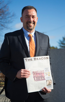 The Concord (N.H.) Monitor publishes Merrimack's school newspaper The Beacon.