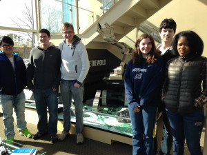 "We had 16 students and two chaperones visit the iRobot offices in Bedford, Mass.March 24. They toured iRobots ""Cool Stuff"" STEM center led by engineer and STEM Director Lisa Freed."