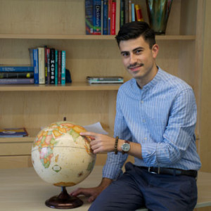 Joseph LaTorre '15 has been awarded a prestigious Fulbright U.S. Student Program fellowship to work in Nepal.
