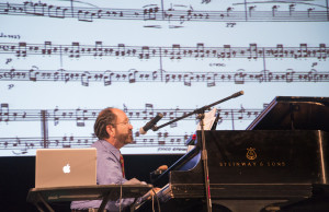 Boston University's Mark Kroll performed at the Rogers Center for the Arts during the fourth biennial North American Confe...