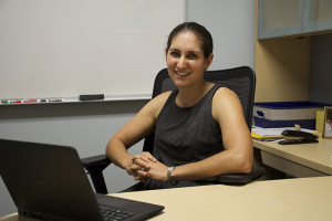 Assistant professor of health sciences Juliana Cohen