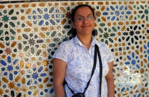 "Sumi Krishnan spent 13 days in Spain & Morocco on the Merrimack College Convivencia ""Crossing Borders"" study..."