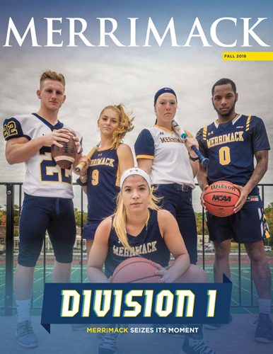 Merrimack Magazine Fall 2018 Cover