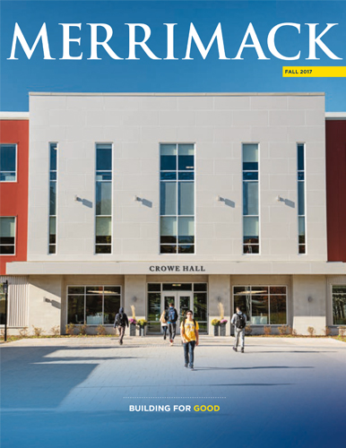 Merrimack Magazine Fall 2017 Cover
