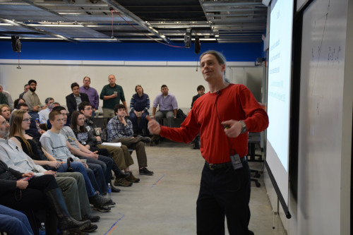 Merrimack College Physics Department associate professor Craig W. Looney used quantum mechanics t...
