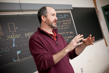 Civil engineering professor Marc Veletzos is traveling to Nepal as part of an international relie...