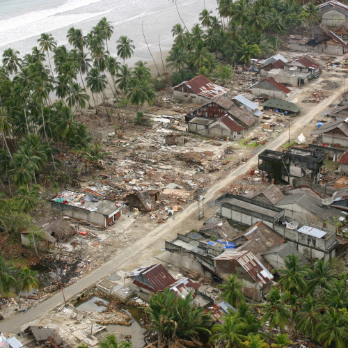 The 9.3 underwater earthquake that devastated the island of Sumatra on Dec. 26, 2004 inspired ass...