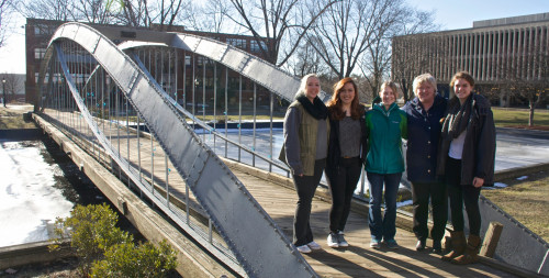 Students recently formed a Merrimack College chapter of the Society of Engineers and elected offi...