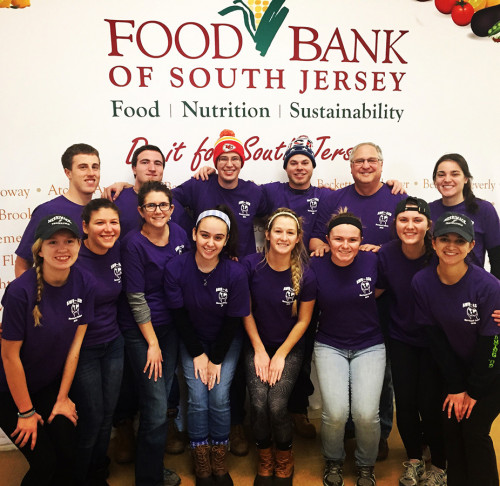 Students who participated in the Camden experience volunteered at a food bank, visited inner-city...