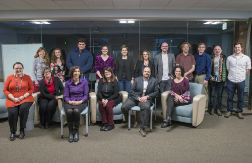 Merrimack College recently celebrated its faculty, staff and students who had academic work publi...
