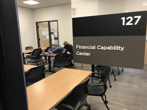 Student interns in the Financial Capability Center spent the past year offering their skills in m...