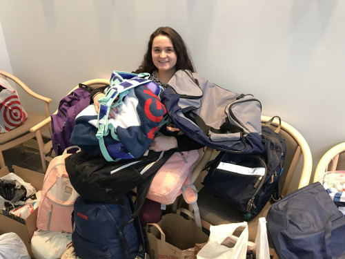 Merrimack College donated generously to Campus Ministry's annual Lenten Backpack Drive this...