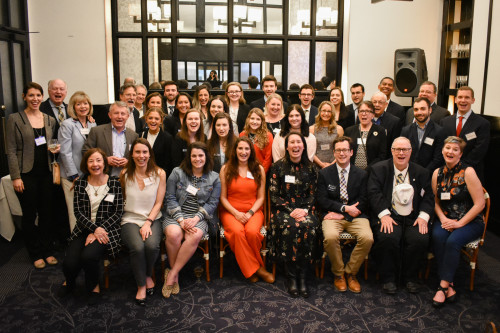 Fifteen liberal arts majors plus faculty and staff traveled to Washington, D.C. on a career fact-...