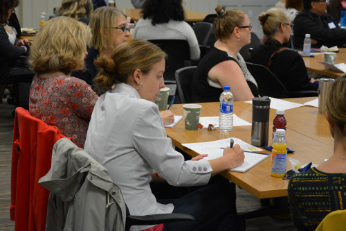 The second annual Community Engagement Institute drew dozens who explored ways to expand service ...