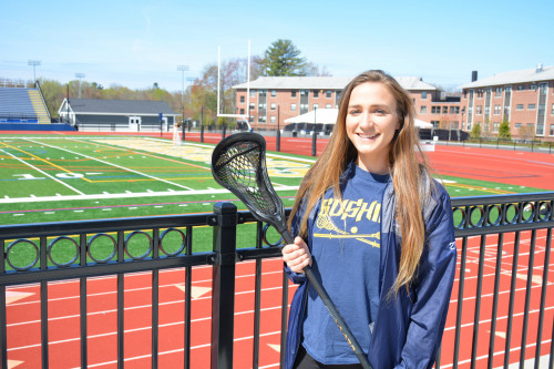 Teagan Mockus '19 will be an intern coach for the Swiss women's national LAX team under...