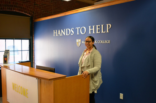 Hands to Help's new location at 60 Island St. in Lawrence offers a larger space with convenient a...