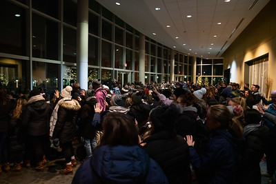 Merrimack celebrated the season of light and hope with the blessing and lighting of the campus Ch...