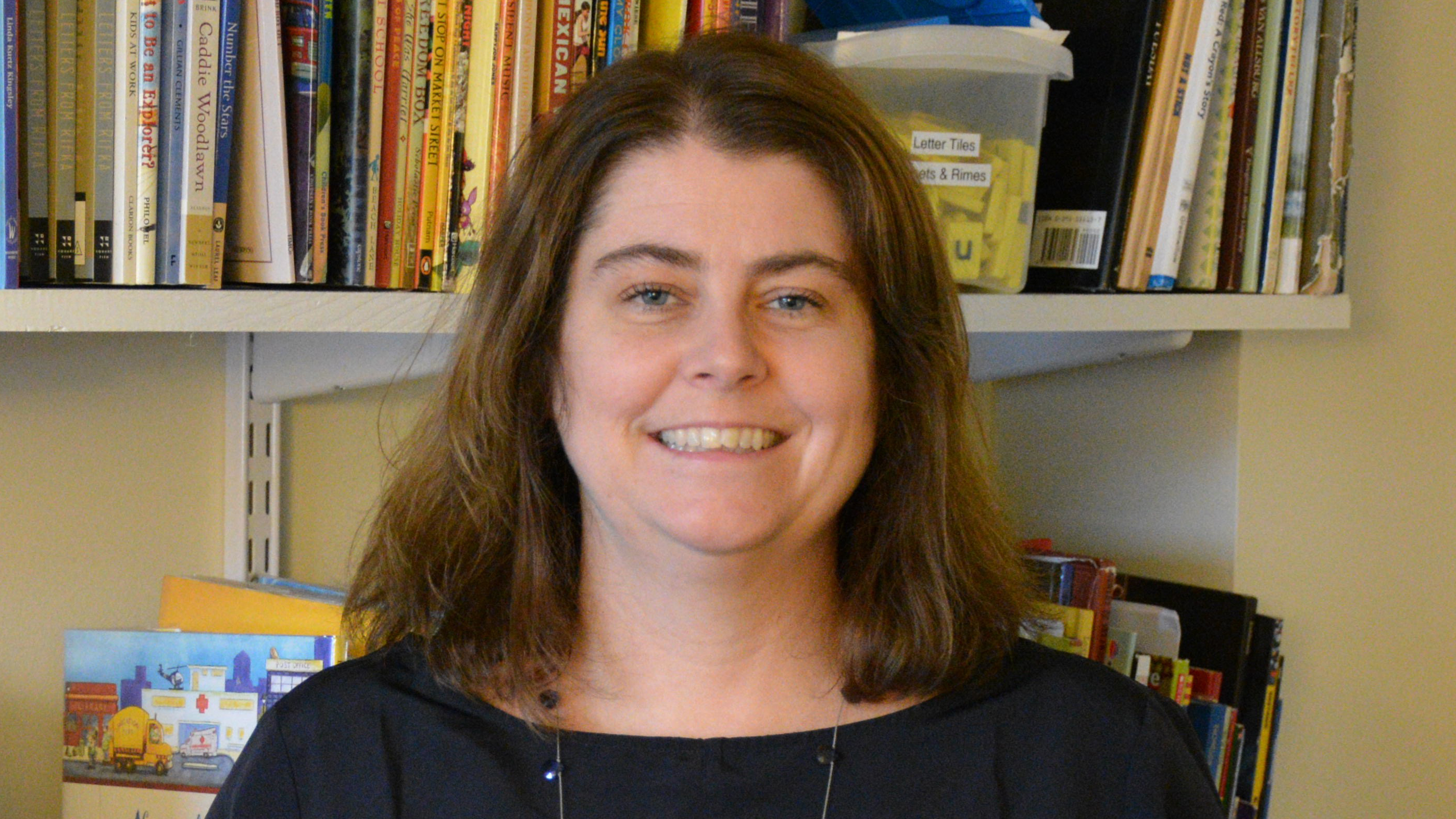 Assistant professor of education Lisa O'Brien developed and taught Reading and Writing Inst...