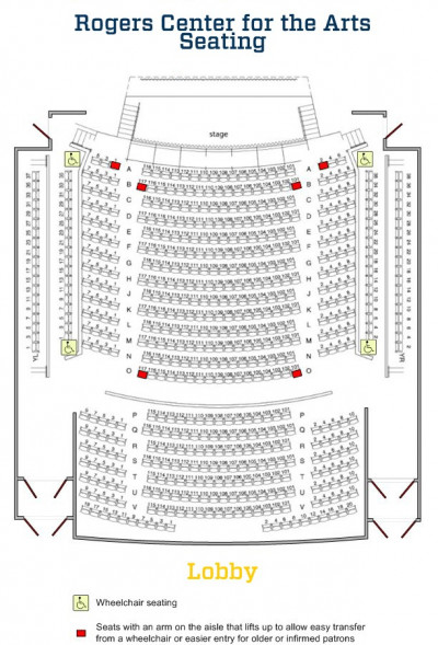 Rogers Center Seating Chart