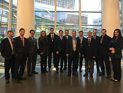 Girard School Finance Students at Bloomberg