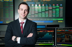 Shane Simbeck at Merrimack's Bloomberg Mucci Capital Markets Lab
