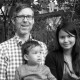 Andrew Smith, wife Ei Phyu and son