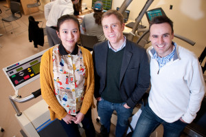 Dr. Zi Yan, Dr. Michael Corcoran, and Dr. Kevin Finn