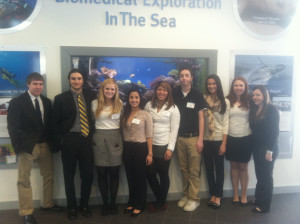 Merrimack College students at NURDS 2014