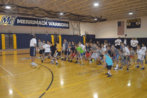 Pic of the day academic basketball awareness camp merrimack save and share sciox Images